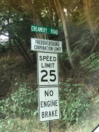 Fredericksburg Town Limit