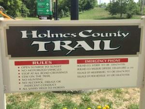 Holmes County Trail, Ohio