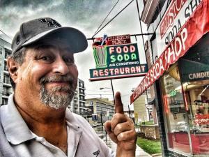 At Nashville's oldest eatery - Elliston Place Diner - in late September