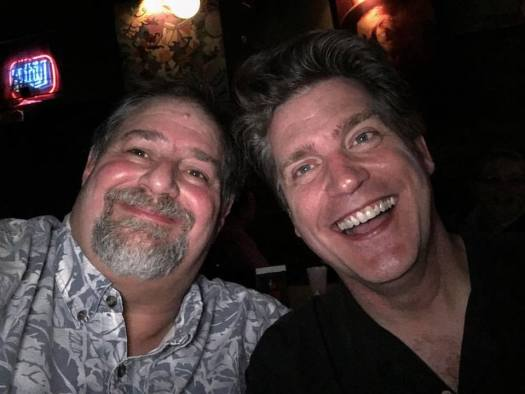Hanging with my dear friend Antsy McClain in Nashville in mid-September