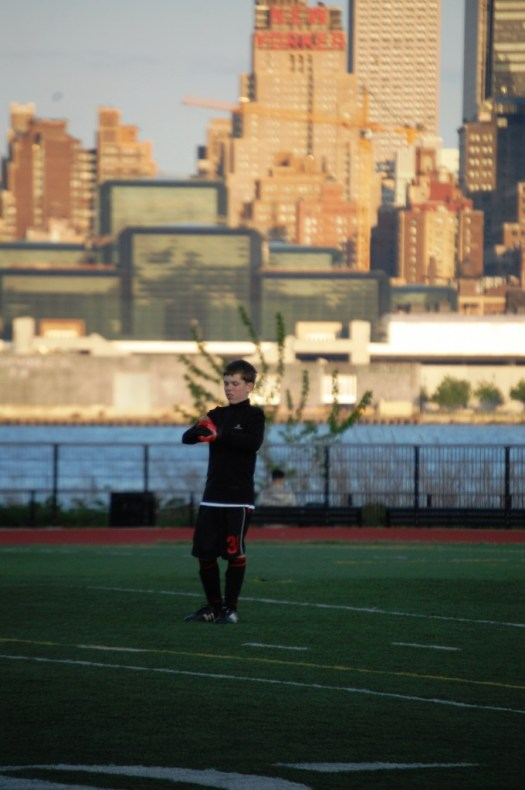 Soccer in the Shadows - Hoboken, NJ