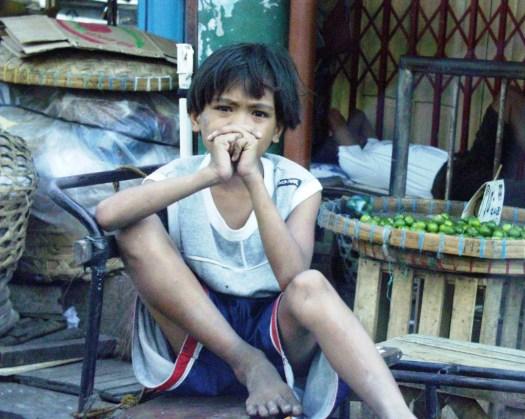 Pondering Girl - Colon, Cebu