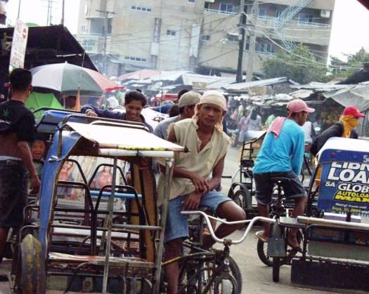 Waiting for a fare - Colon, Cebu