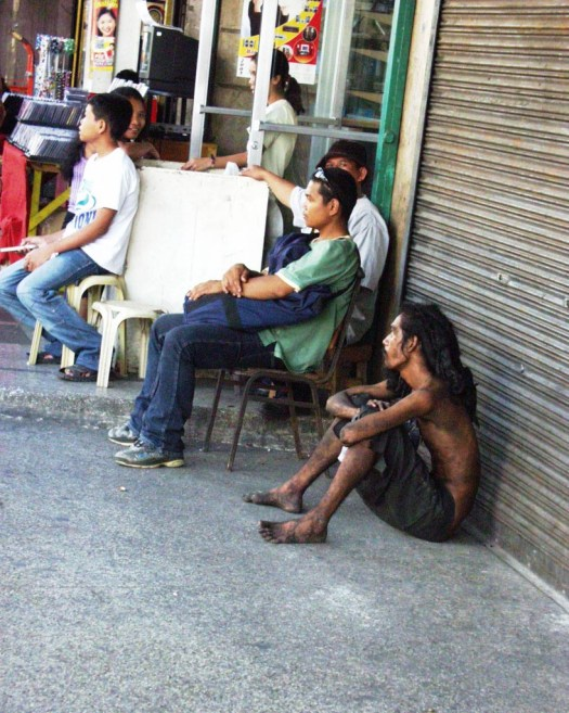Street Person - Carbon Market - Cebu