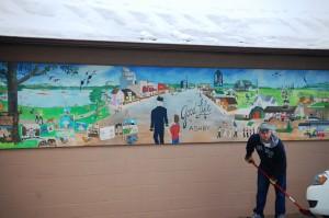 Mural in Ashby, MN