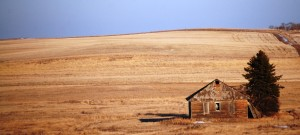 Rural Scene on Enchanted Highway, South of Gladstone, ND