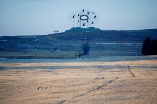 Flying Geese as seen from Deer Crossing