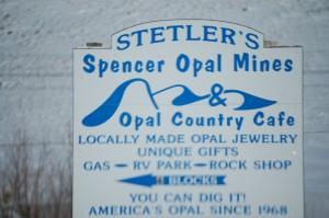 Spencer Opal Mines