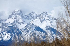 Grand Tetons from US 89