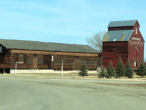 Old Grass Range Depot and Elevator