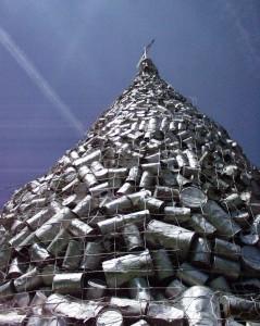 Casselton Can Pile - June 16, 2005