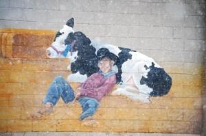 Fairgrounds Wall Mural - Blackfoot, Idaho