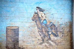Fairgrounds Wall Mural - Blackfoot, Idaho