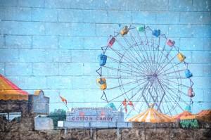 Fairgrounds Wall Mural