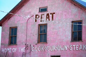 Peat Bar and Hotel in Lima, Montana