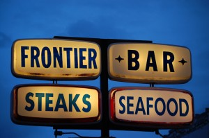 Frontier Bar in Dunkirk, east of Shelby