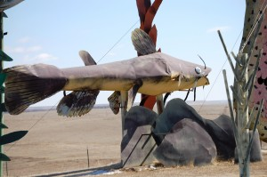 "Giant Catfish at ""Fisherman's Dream"""