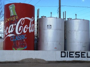 Coke Can Gas Tank