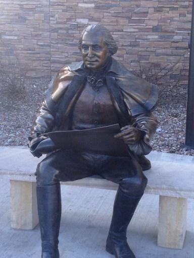 George Washington at mall in Great Falls