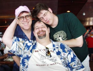 "With Antsy and ""Uncle Fred"" on cruise to Cozumel"