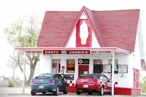 Route 66 Cookies - Commerce, Oklahoma
