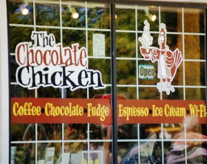 The Chocolate Chicken - Egg Harbor, Wisconsin