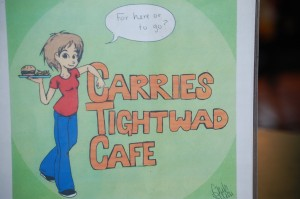 Carrie's Tightwad Cafe