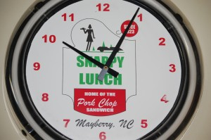 Snappy Lunch Clock