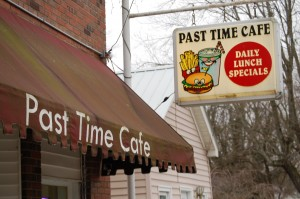 Past Time Cafe storefront - Crab Orchard, Kentucky