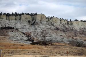Badlands in Northern South Dakota off of HWY 79