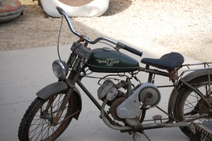 Old Motorcycle - Antique Archaeology