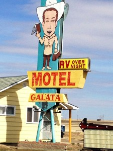 RV Motel in Galata, MT