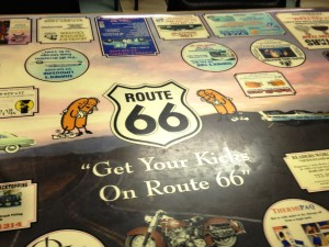 Typical Table Top at Cozy Drive In - Springfield, Illinois