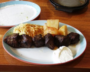 Lamb Shish Kebob at Astoria