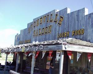 Stoneville Saloon - Alzada, Montana