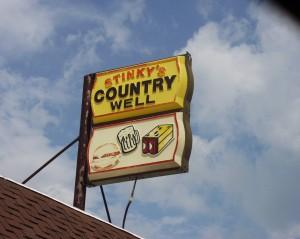 Stinky's Sign - Gilboa, Ohio