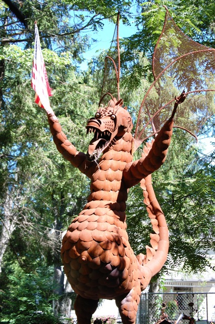 Giant Dragon at Jurustic Park