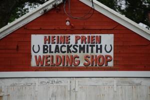 Heine Prien - Blacksmith - Tripp, SD
