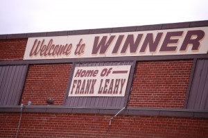 Welcome to Winner - Home of Frank Leahy