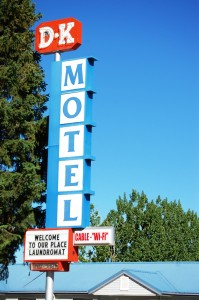 The DK Motel - found a motel named after me
