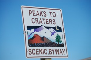 Peaks to Craters Scenic byway