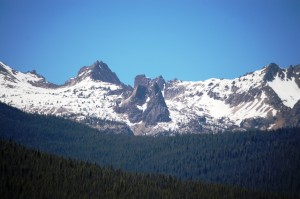 Sawtooth Mountains near Redlake