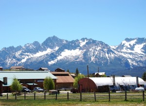Scene from Stanley, Idaho