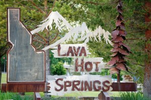 Welcome to Lava Hot Springs, Idaho