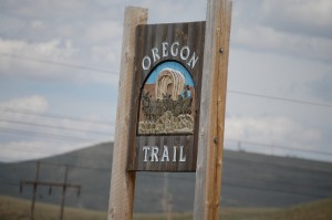 Oregon Trail SIgn