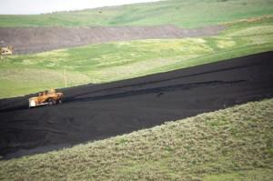 Coal mining near Oak Creek, Colorado