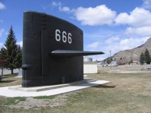 Submarine Sail of USS Hawkbill