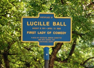 Lucille Ball Birthplace - Jamestown, NY