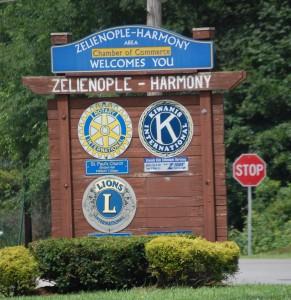 Welcome to Zelienople-Harmony, PA