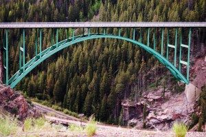 Green Bridge, near Redcliff, Colorado